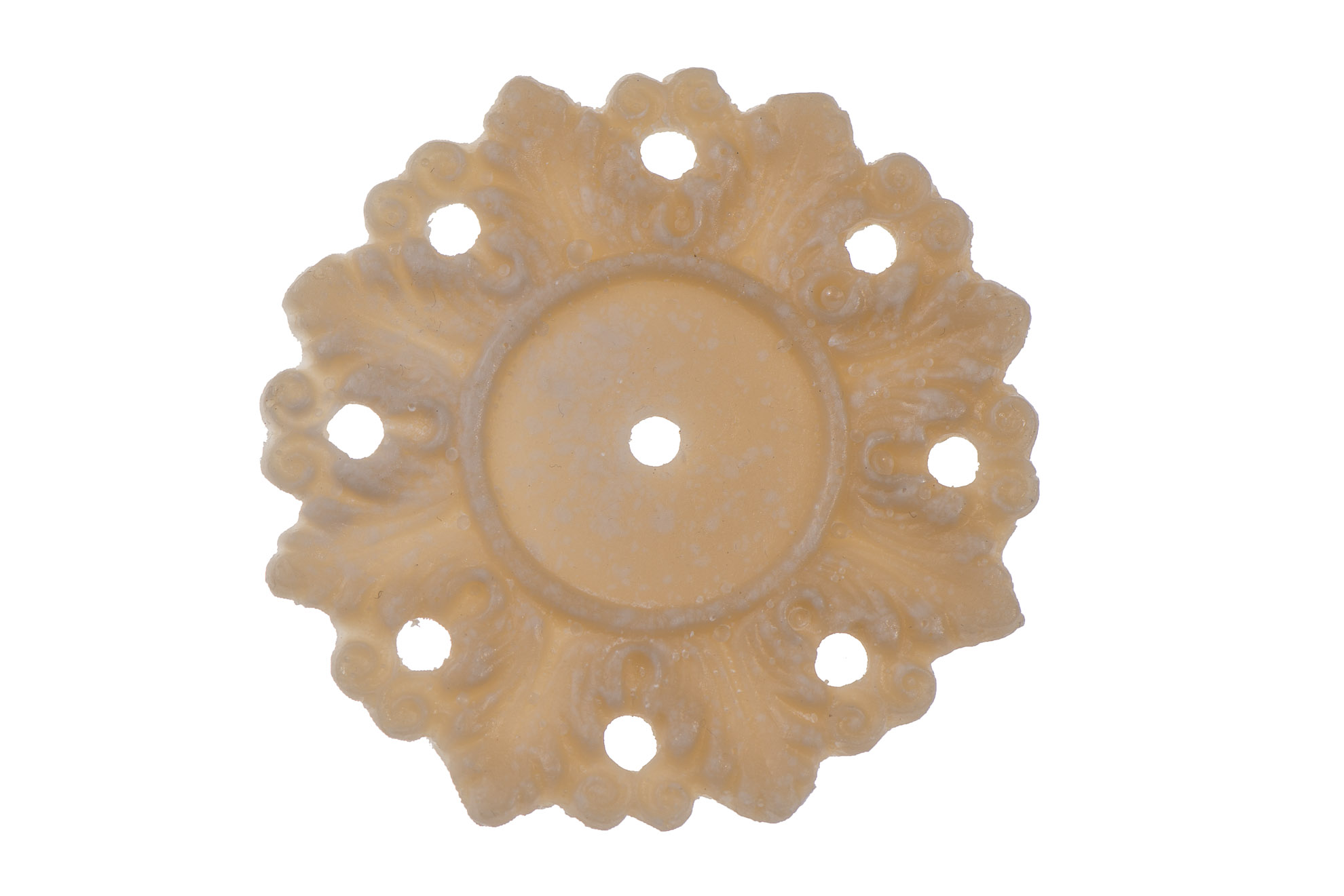 Shabby french provincial furniture knob architectural applique