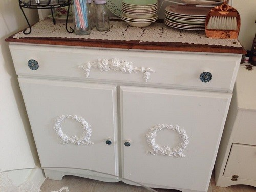Shabby Vintage Chic French Provincial Medium Furniture Rose ...